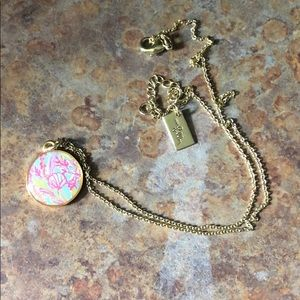 Lilly Pulitzer scuba to Cuba necklace